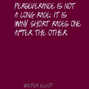 Walter Elliot's quote