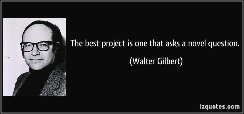 Walter Gilbert's quote #6