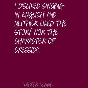 Walter Legge's quote