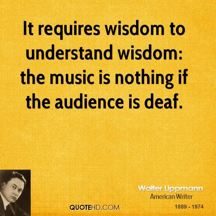 Walter Lippmann's quote #2