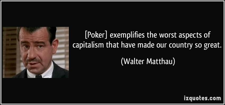 Walter Matthau's quote #3