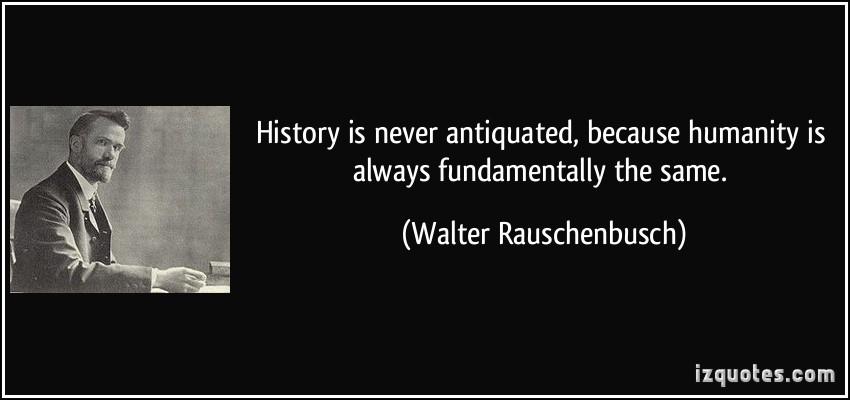 Walter Rauschenbusch's quote #1