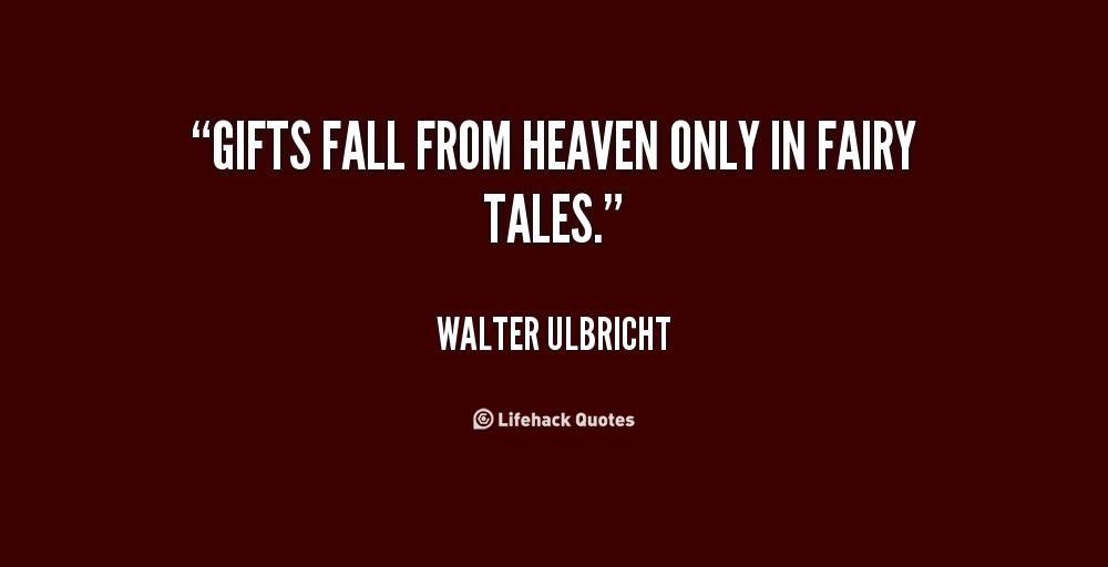 Walter Ulbricht's quote