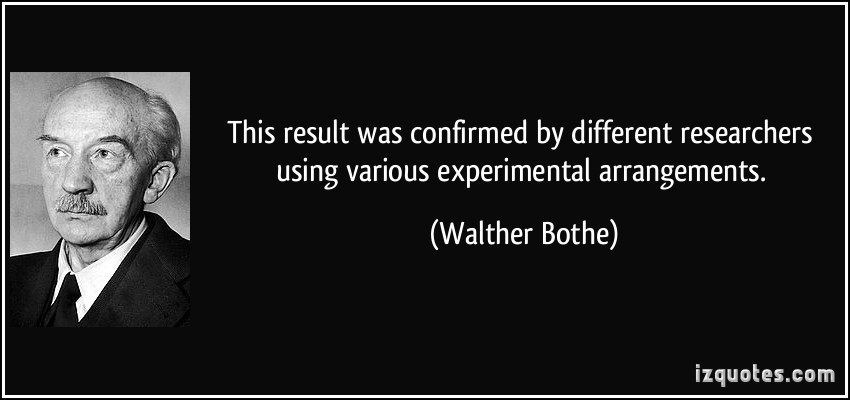 Walther Bothe's quote #5