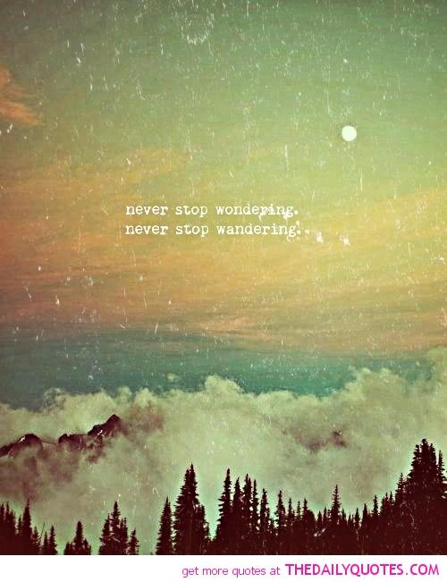 Wandering quote #2