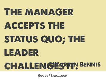 Warren Bennis's quote #3