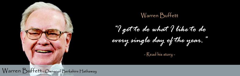 Warren Buffett quote #1