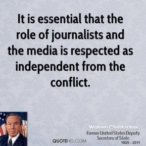 Warren Christopher's quote #8
