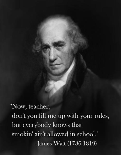 Watt quote #2