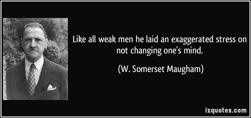Weak Men quote #2
