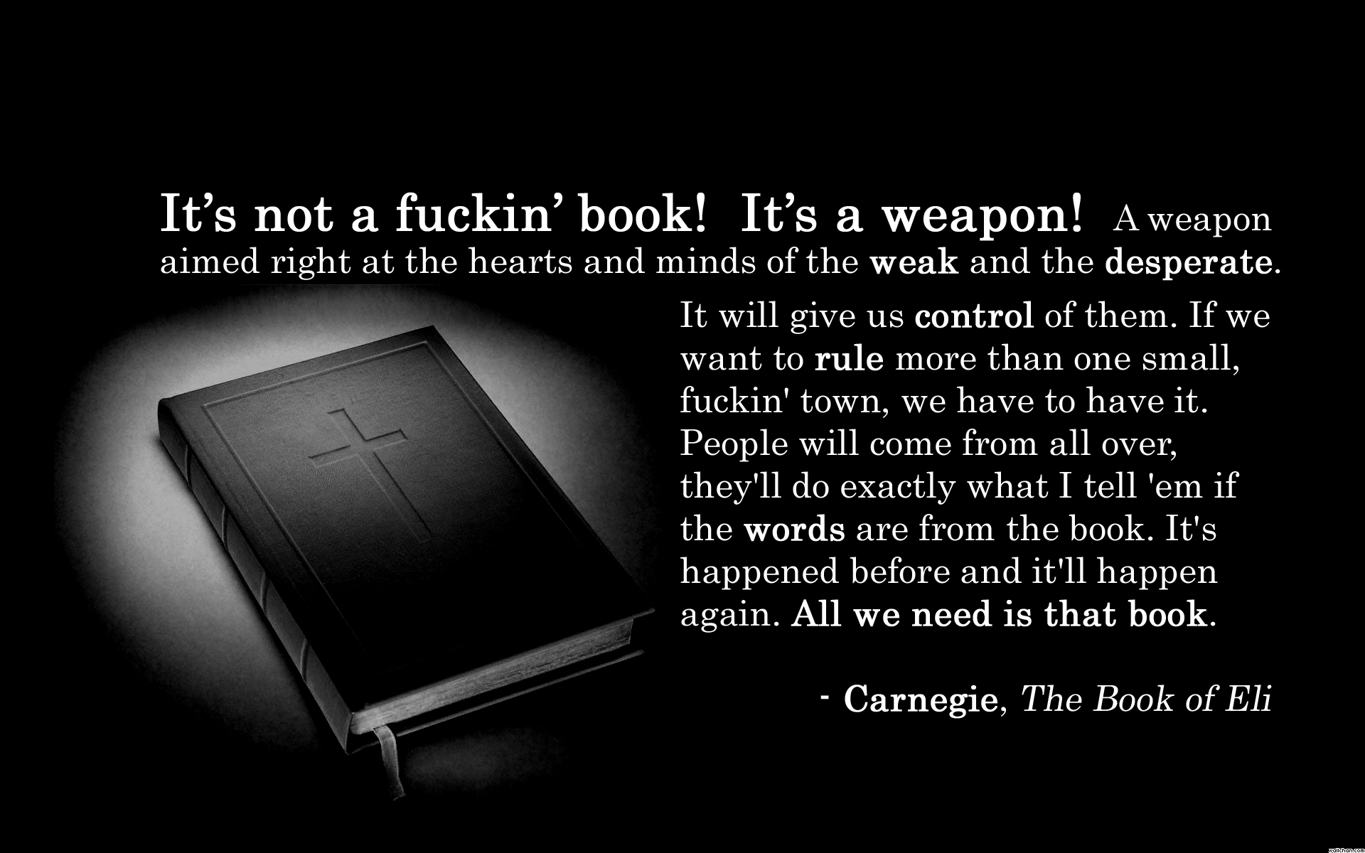 Weapon quote #2