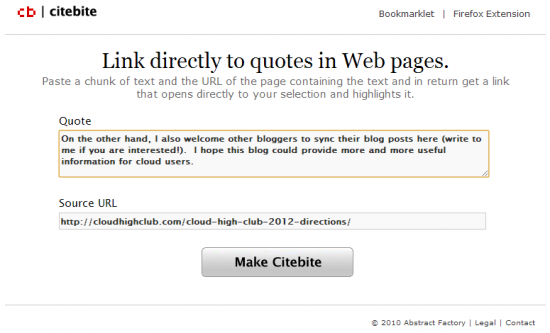 Web Pages quote #2