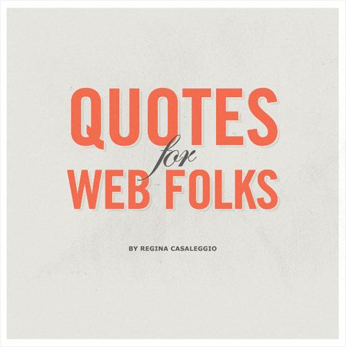 Web quote #5