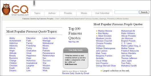 Websites quote #1