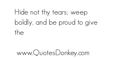 Weeping quote #1