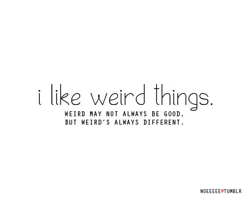 Weird quote #5