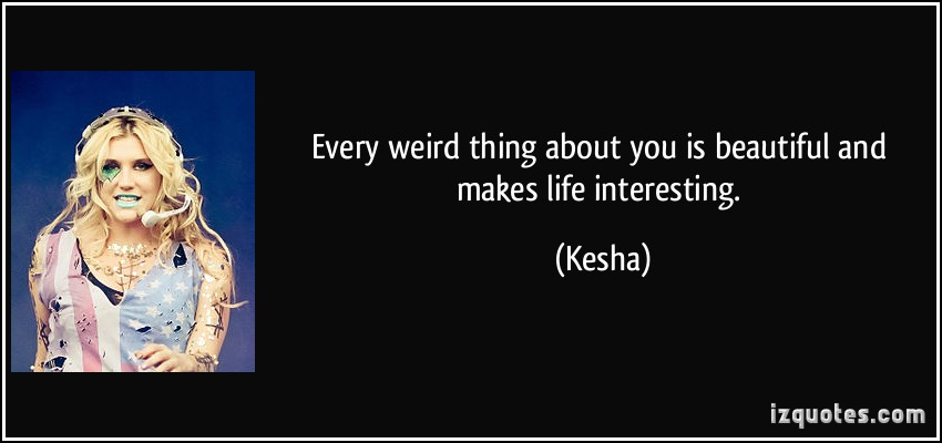 Weird Thing quote #2