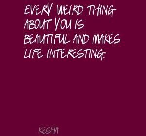 Weird Thing quote #1