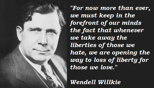 Wendell Willkie's quote #1