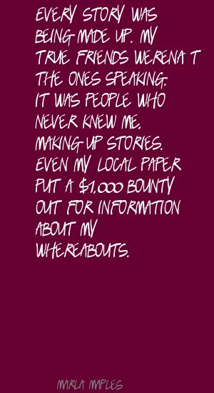 Whereabouts quote #2