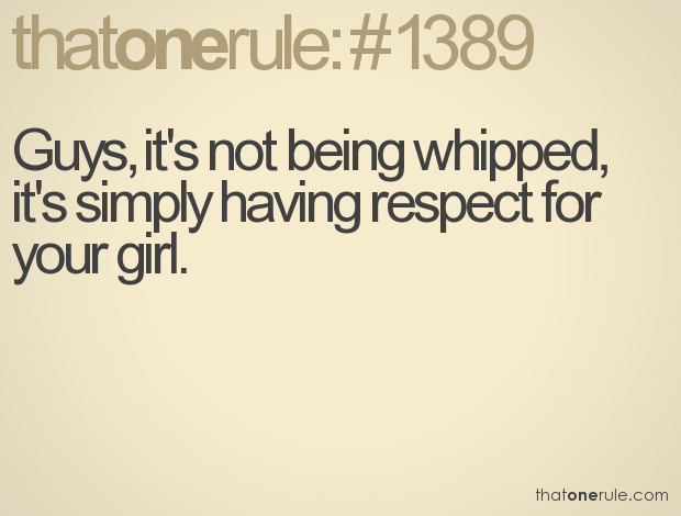Whipped quote #2