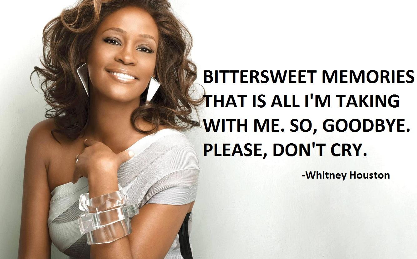 Whitney Houston's quote #4