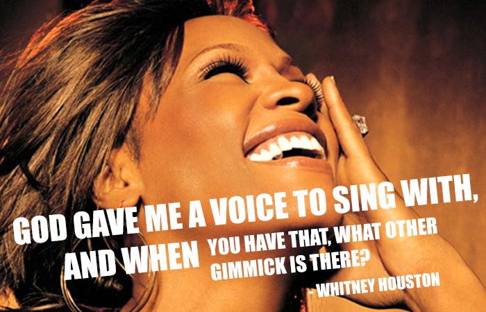 Whitney Houston's quote #6