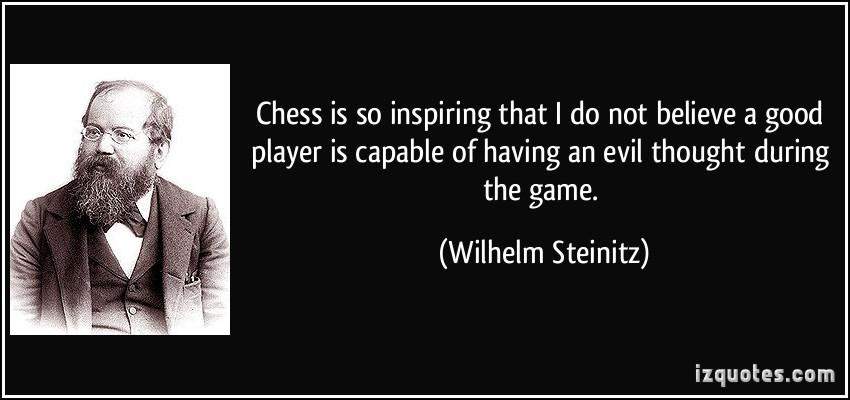 Wilhelm Steinitz's quote #2