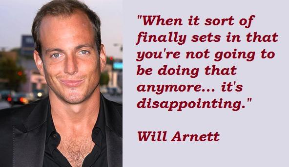 Will Arnett's quote #8