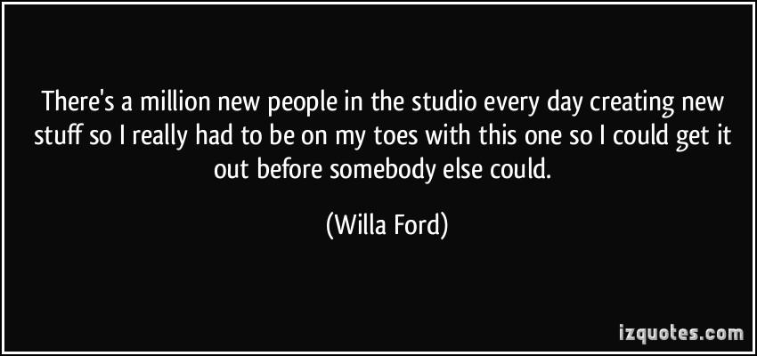Willa Ford's quote #5