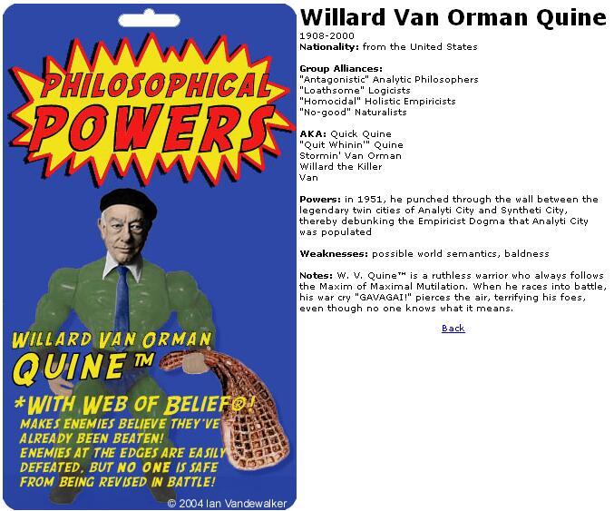 Willard Van Orman Quine's quote #1