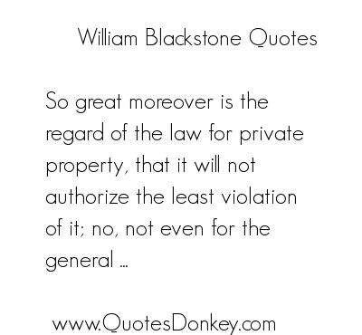 William Blackstone's quote #3