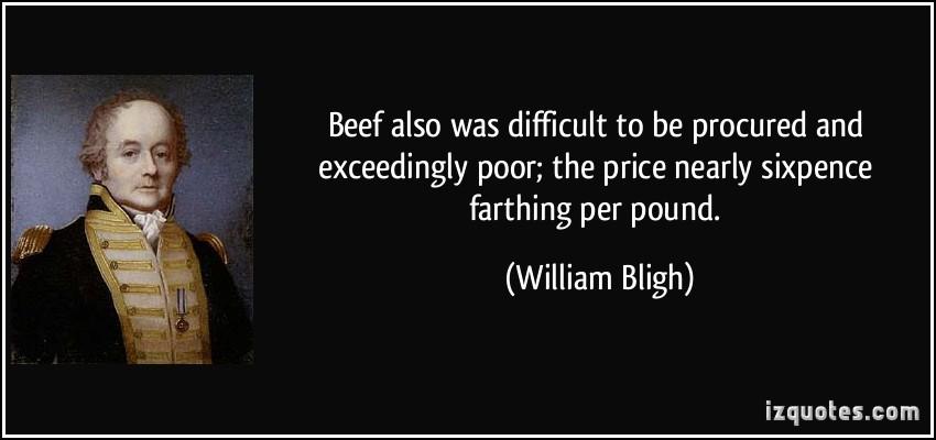 William Bligh's quote #2