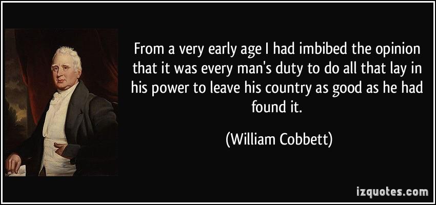 William Cobbett's quote #7