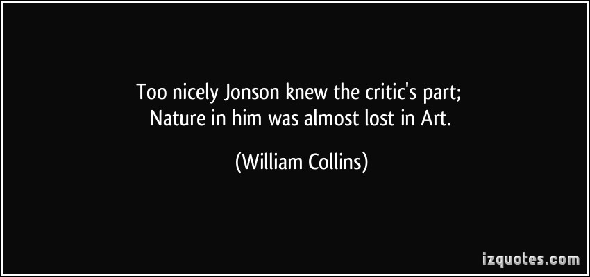 William Collins's quote #4