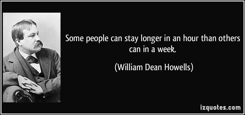 William Dean Howells's quote #3