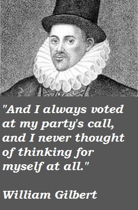 William Gilbert's quote #6