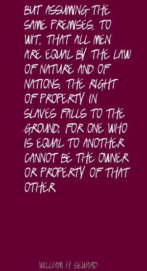 William H. Seward's quote #5