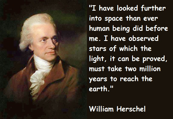 William Herschel's quote #1
