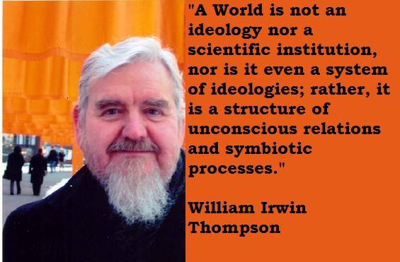 William Irwin Thompson's quote #1