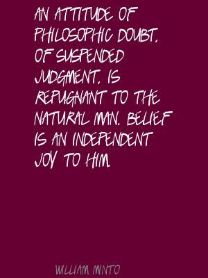 William Minto's quote #1