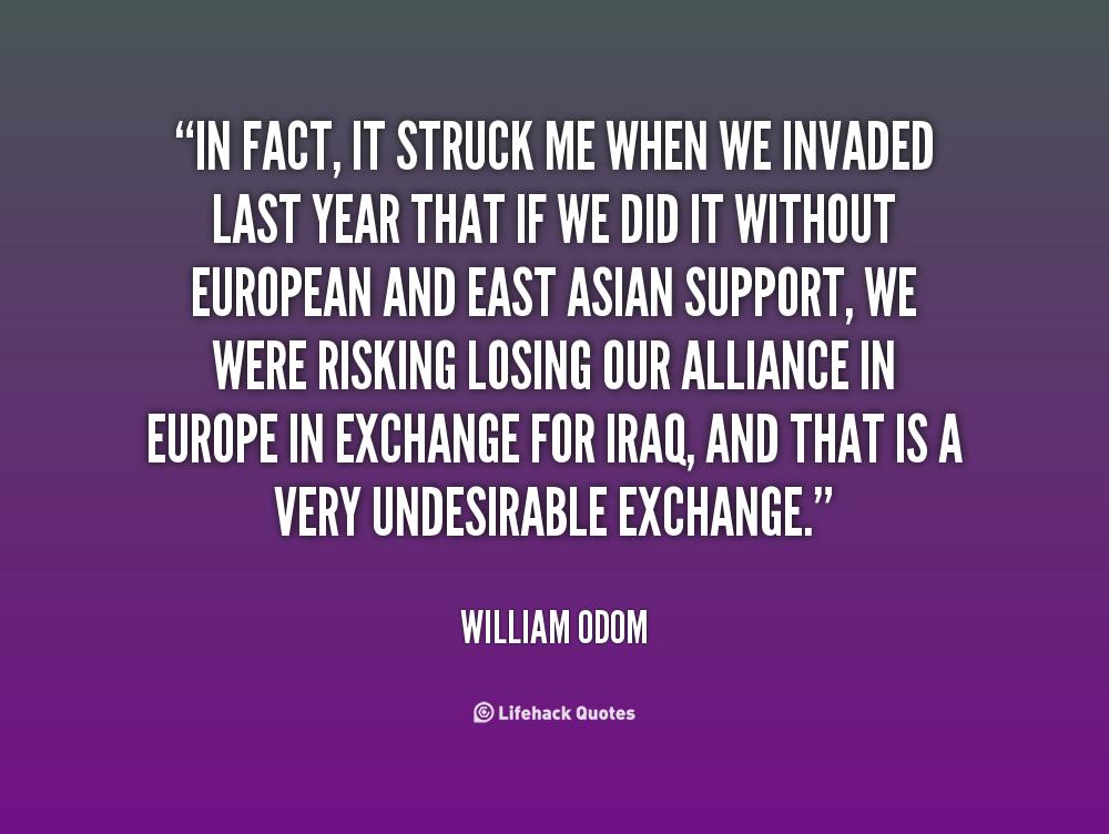 William Odom's quote #5