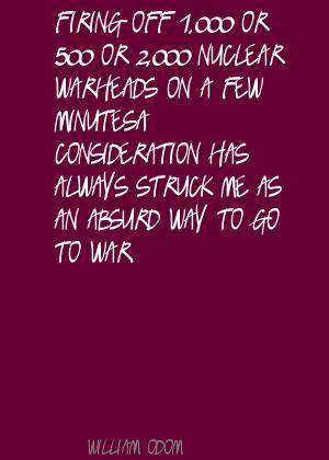 William Odom's quote #3