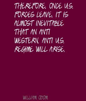 William Odom's quote #7