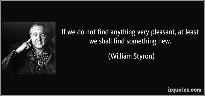 William Styron's quote #5