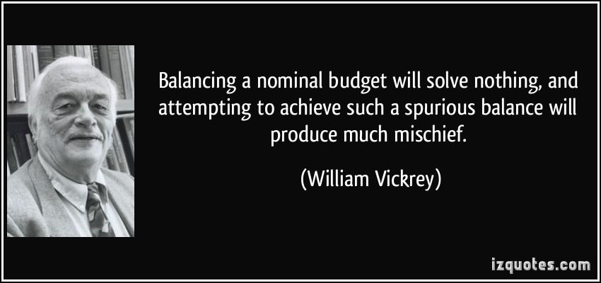 William Vickrey's quote #6