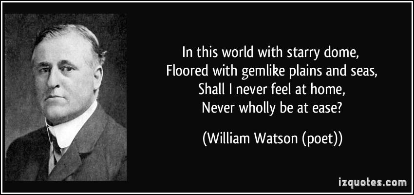William Watson's quote #3