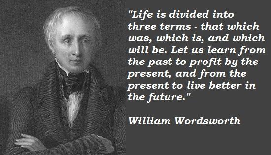 William Wordsworth's quote #1
