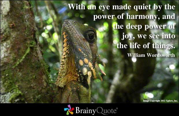 William Wordsworth's quote #2