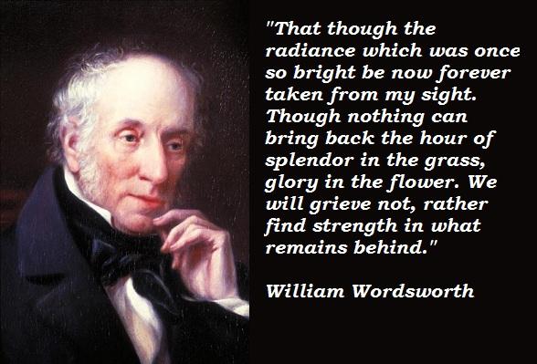 William Wordsworth's quote #4